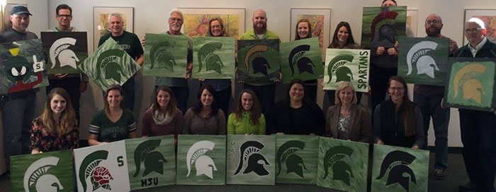 Spartan painting night. May 6
